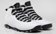 "Air Jordan 10 ""Steel"" Official Image"
