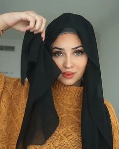 Turban hijab video by Heba Al. Akhras on outfit in 2020