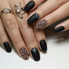 Square Acrylic Nails, Best Acrylic Nails, Orange Nail Designs, Nail Art Designs, Sexy Nails, Cute Nails, Pink Black Nails, Flamingo Nails, Glamour Nails