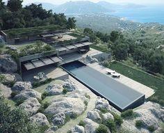 Terra Porra Villas by GS Studio Architects, Palombaggi #Corsica ...