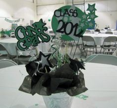 Graduation Table Centerpieces | Graduation+Table+Centerpieces+To+Make | 20 of these for the tables at ...