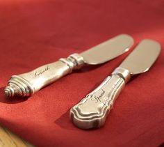 antique silver spreaders