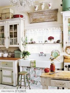 kuchnia rustykalna - Google Search na Stylowi.pl