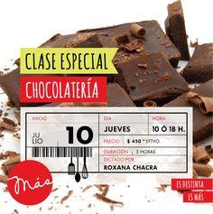 CLASE TALLER DE CHOCOLATERÍA   JULIO 2014   MÁS Escuela de Cocina