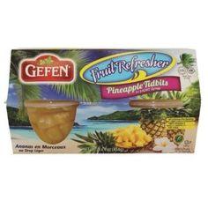 Gefen Pineapple Tidbit Cups (6x4Pack)