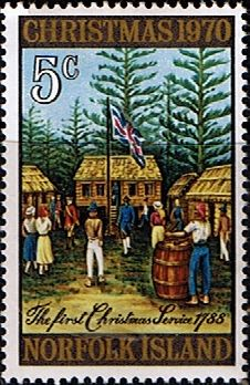 Norfolk Island 1970 Christmas Fine Mint SG 120 Scott 143 Other European and British Commonwealth Stamps HERE!