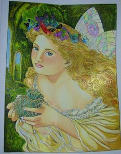 Jules Cote' (18+ division) Victorian Fairy Paintings