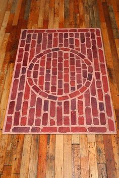 Trompe Lu0027Oeil Floor Mat   Brick Love This ...