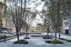 东莞广发片区城市品质提升工程 / AUBE欧博设计 Dongguan, Sidewalk, Concept, Urban, Dawn, Side Walkway, Walkway, Walkways, Pavement