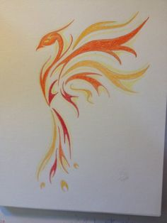 A Phoenix is a courageous symbol of one who's risen above adversity, & found renewed strength despite their circumstances. When the Phoenix resurrects from the flames, she is more beautiful than ever. Future Tattoos, New Tattoos, Body Art Tattoos, Small Tattoos, Sleeve Tattoos, Wing Tattoos, Belly Tattoos, Celtic Tattoos, Tattos