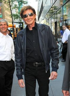 Barry Manilow, who was spotted out and about in New York's Soho neighborhood on Wednesday. (9/12/2012)
