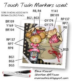Touch Twin Markers & More: Seams Like Forever