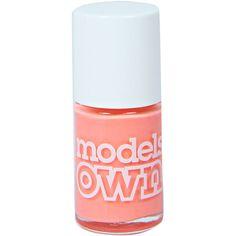 Boohoo Beach Bag Neon Nail Polish ($5) ❤ liked on Polyvore featuring beauty products, nail care, nail polish, fillers, nails, beauty and makeup