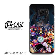 All Villains Disney DEAL-636 Samsung Phonecase Cover For Samsung Galaxy Note 7