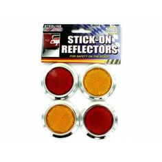 Carkart - Stick-on reflectors Case of 144 http://carkart.com/