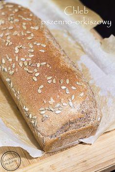 Chleb pszenno orkiszowy na drożdżach - Ulubione Przepisy Hot Dog Buns, Hot Dogs, Bread, Food, Cookie, Brot, Essen, Baking, Meals