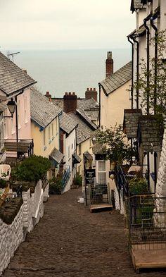Clovelly Village, Devon, England (by parallel-pam)