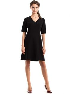 Dámske Šaty S Krátkym Rukávom STYLOVE  dress  short sleeve   little black dress  everyday  elegant 3cfa61b6363