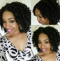 Crochet braids are focused into the act of making its unique braids style. However, the standard one also can be found like in the form of the straight crochet braids.