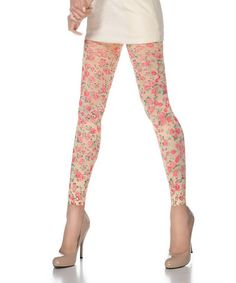 Take a look at this Classic Rose Leggings - Women by Valentina Shapewear on #zulily today!