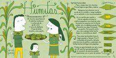 Cositas Ricas Ilustradas por Pati Aguilera - Humitas - Chile Empanadas, Chilean Recipes, Chilean Food, Spanish Expressions, Spanish Phrases, Teaching Spanish, Spanish Teacher, Spanish Food, Salads