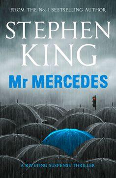The animated cover for Stephen King's riveting bestseller MR MERCEDES.
