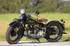 1933 Indian Four. When this bike was introduced, a four-cylinder motorcycle was a tool for the wealthy or a well-funded police force.    Photo by Gary Phelps; article by Greg Williams. Motorcycle Classics Magazine September/October 2011.