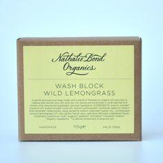 Nathalie Bond Organics   Jabón Artesanal de Citronela Salvaje - Handmade Wild Lemongrass Soap   Tienda Online de Cosmética Natural