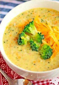 Сырный суп (с шампиньонами и брокколи). - LALI-FOOD