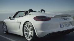 The new Porsche Boxster Spyder: 5 Billion Curves