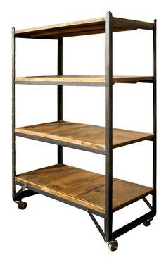 Vintage Factory Shelves : The Old Cinema – Antique Furniture, Vintage, Industrial, Danish, French