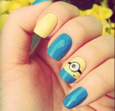 tangled nails   minion nails frozen nails tangled nails goofy nails pluto nails