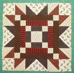 Sue Garman -- wish I could find the pattern for this block.....!!