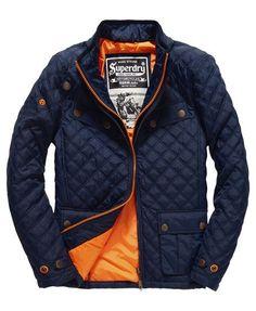Superdry Veste matelassée Apex Quilt Bleu Marine Veste Matelassée Homme,  Homme Chic, Vêtements Homme 79ccfa90984