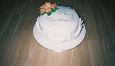 Poinsetta Christmas Cake