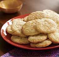 Ginger & Lemon Cookies... making them now and even the batter is delicious!