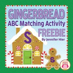 Free Gingerbread ABC Activity!!!  A great literacy activity for your preschool, pre-k, kindergarten, RTI, or SPED classroom.  Perfect for your literacy center.This activity includes 26 gingerbread letter houses,1 set of lowercase gingerbread girl letter cards and ideas for use.This activity also included in my Gingerbread Bundle .