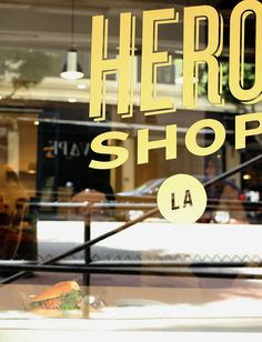Hero Shop / Los Angeles via Oh Joy!