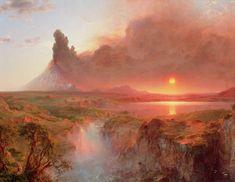 "Frederic Edwin Church (American, 1826-1900) ""Cotopaxi"" 1862"