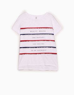 Sequinned top - T-shirts Graphic Tees, T Shirts For Women, Macedonia, Clothes, Gallery, Fashion, Winter Time, Sequins, Outfit