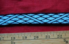 16ft 6inches Hand Woven Tablet Weaving Braid by Mickstabletweaving