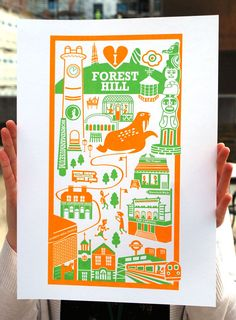 Forest Hill Print