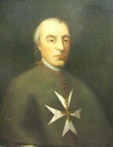 Vincenzo Labini of Bitonto, Bishop of Malta and Archbishop of Rhodes, 1780-1807. #OrderofMalta #SMOM
