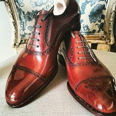 bluscuro, Elegance… #saintcrispins #handmademensshoes...