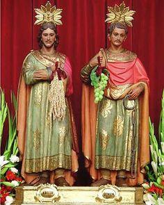Santos Abdon e Senén.