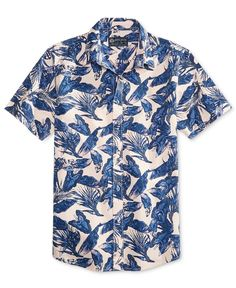 676a071e4d868 American Rag Men s Botanical Cotton Shirt