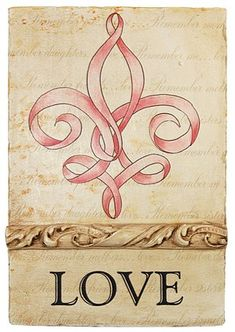 This is the fleur de lis tat I am thinking colored with mardi gras colors purple, green, and gold. Just want the ribbon fleur de lis. It's the only one I could find that is kind of artsy and not some big clunky symbol. Tatoo 3d, Tattoo Pink, 16 Tattoo, Tattoo Mom, Decoupage Vintage, Breast Cancer Survivor, Breast Cancer Awareness, Lung Cancer, Boy Scouting