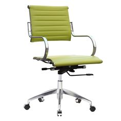 Finemod Imports Modern Flees Mid Back Office Chair