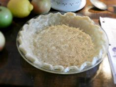 NO ROLL/NO MESS/NO FAIL 10 MINUTE BEST FLAKY PIE CRUST EVER:  Pour 1/2 cup canola oil, 1/4 cup milk, 1/2 teaspoon salt, 1 &1/2 cup flour in pie plate. Mix to form ball. Spread out with fingers. Can double recipe for thicker crust. Great for pumpkin, dutch apple, pecan, and any other pie that requires baking.