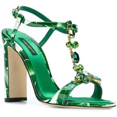 8793b0545b0 Dolce  amp  Gabbana  Keira  high sandals (2.425 RON) ❤ liked on